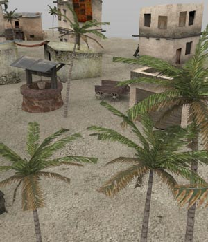 Desert Outpost (for Poser) 3D Models VanishingPoint