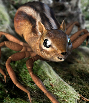 Impossible Creatures - The Chider 3D Models sixus1