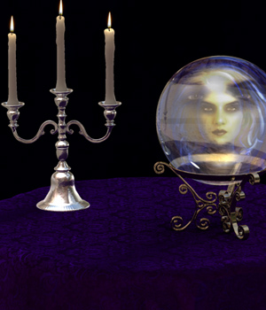 Finishing Touches: Seance 3D Figure Essentials 3D Models ryverthorn