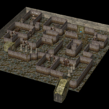 Catacombs of Death (for Poser) - Extended License 3D Models VanishingPoint