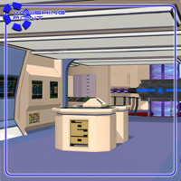 Starship Engineering Room 2 (for Poser) - Extended License image 1