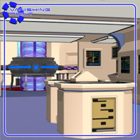Starship Engineering Room 2 (for Poser) - Extended License image 2