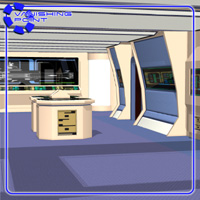 Starship Engineering Room 2 (for Poser) - Extended License image 3