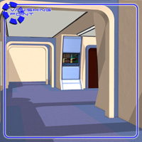 Starship Engineering Room 2 (for Poser) - Extended License image 4