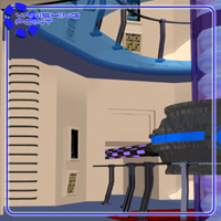Starship Engineering Room 2 (for Poser) - Extended License image 5