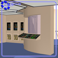 Starship Engineering Room 2 (for Poser) - Extended License image 7