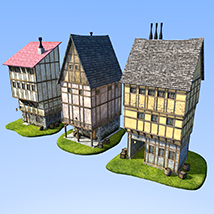Set of houses 2 image 1