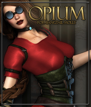 OPIUM for Bangtail Molly 3D Figure Essentials Anagord