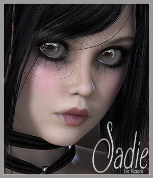 SV7 Sadie 3D Figure Essentials Seven