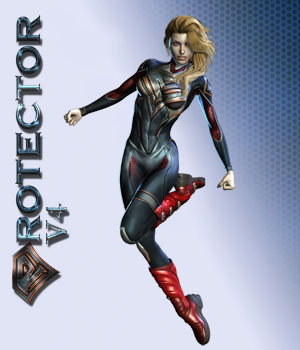 Protector V4 3D Figure Assets shaft73
