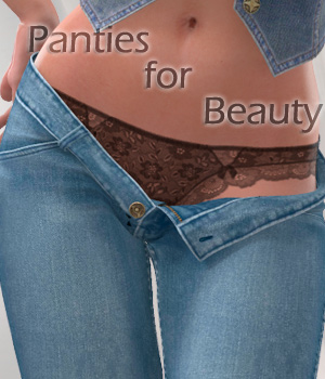Panties for Beauty #4 3D Figure Essentials Arrin