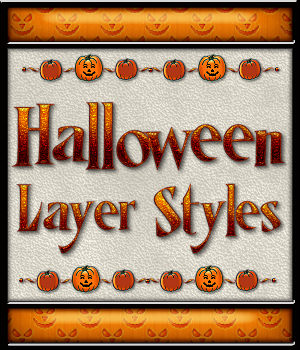 Halloween Layer Styles 2D Merchant Resources fractalartist01