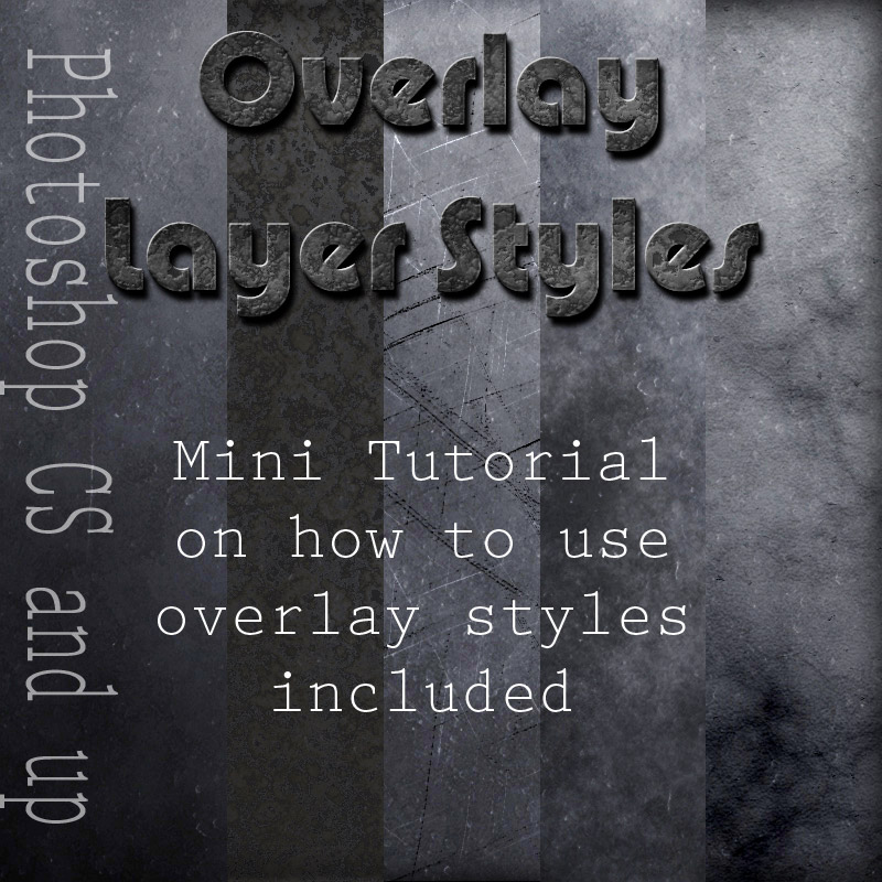 Overlay Styles - Grunge by antje