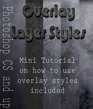 Overlay Styles - Grunge 2D Graphics antje
