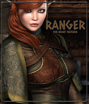 RANGER for Night Watcher 3D Figure Essentials Anagord