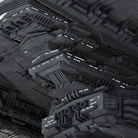 Allied Fleets Heavy Battle Cruiser - Poser,DAZ,OBJ,3DS,MAX - Extended License image 3