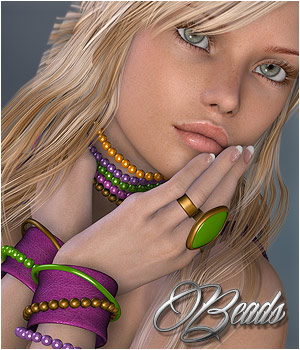 Beads - Jewel Basics II by P3D-Art