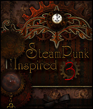 SteamPunk Inspired 3 2D Graphics antje