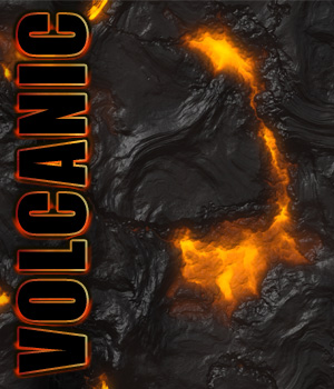 Volcanic Pattern Tiles 2D Graphics TheToyman