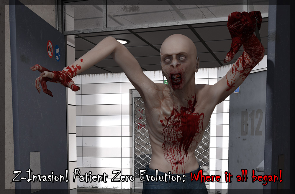 Z-Invasion! Patient Zero Evolution for Michael 4