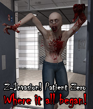 Z-Invasion! Patient Zero Evolution for Michael 4 3D Figure Essentials ile-avalon