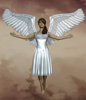 Utopian Wings for Dawn 3D Figure Essentials midnight_stories