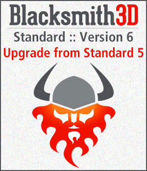 Blacksmith3D Standard-6 Upgrade from Standard-5 Software Blacksmith3D