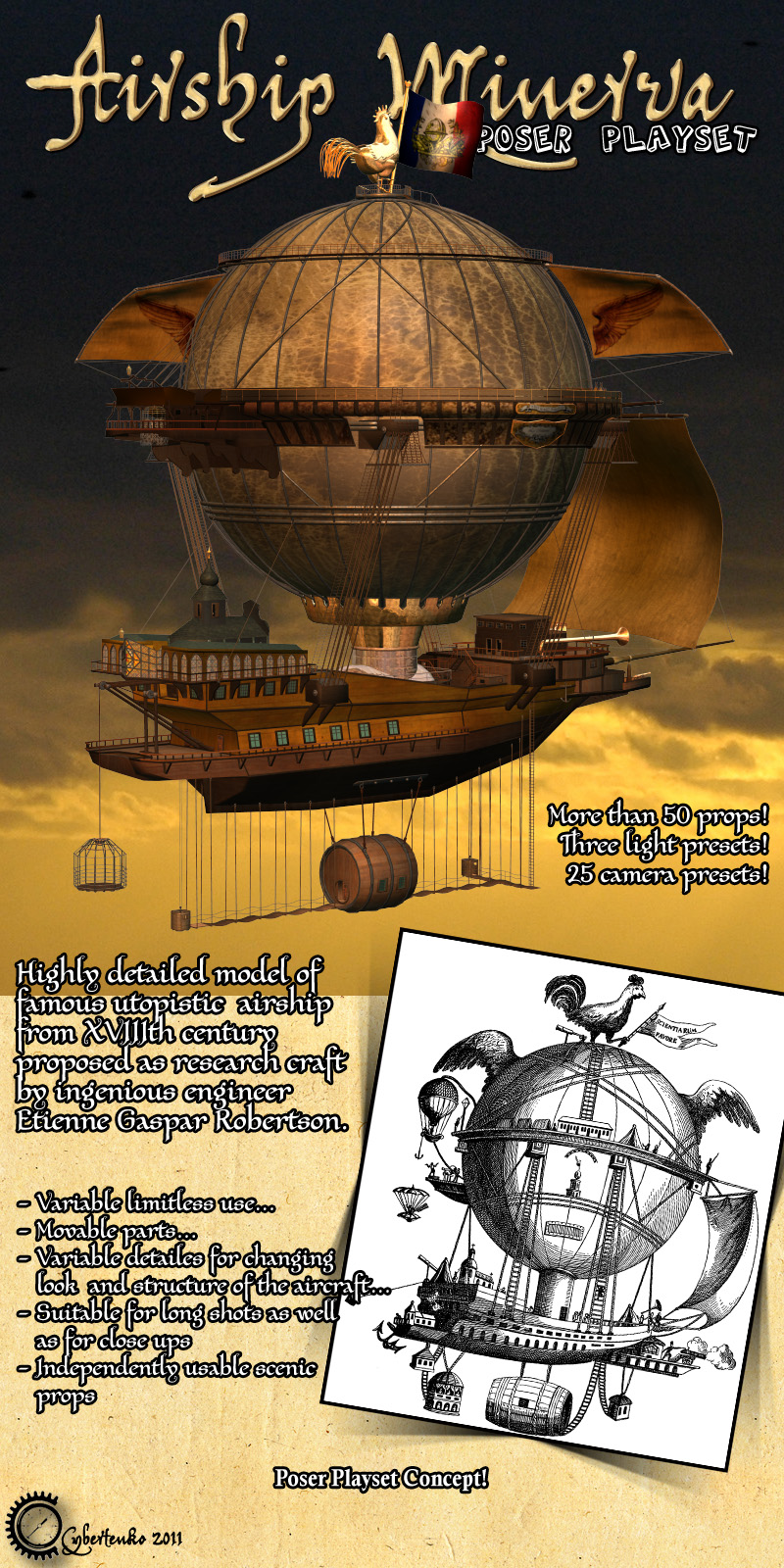 Airship Minerva - Extended License