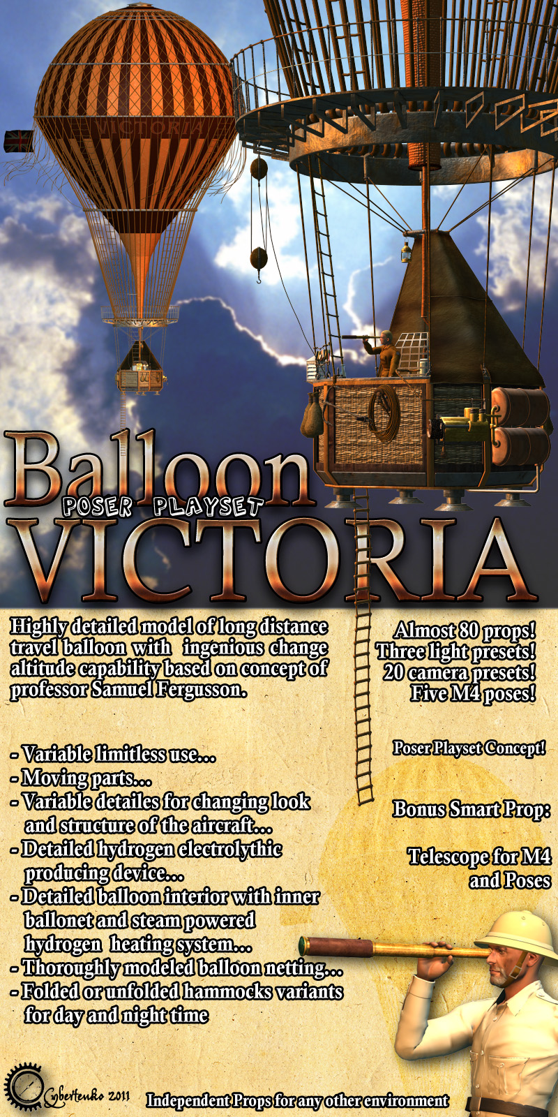 Balloon Victoria - Extended License