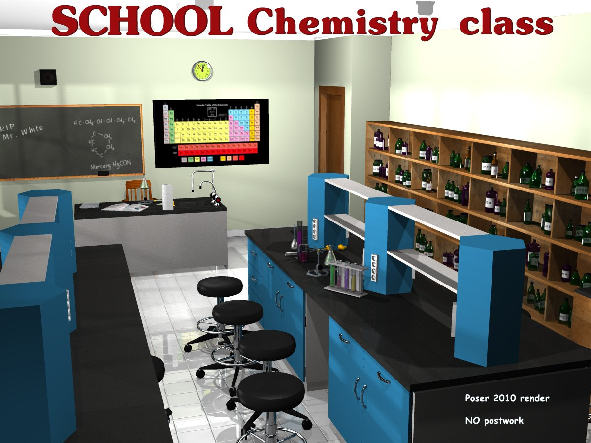 School Chemistry class - Extended License
