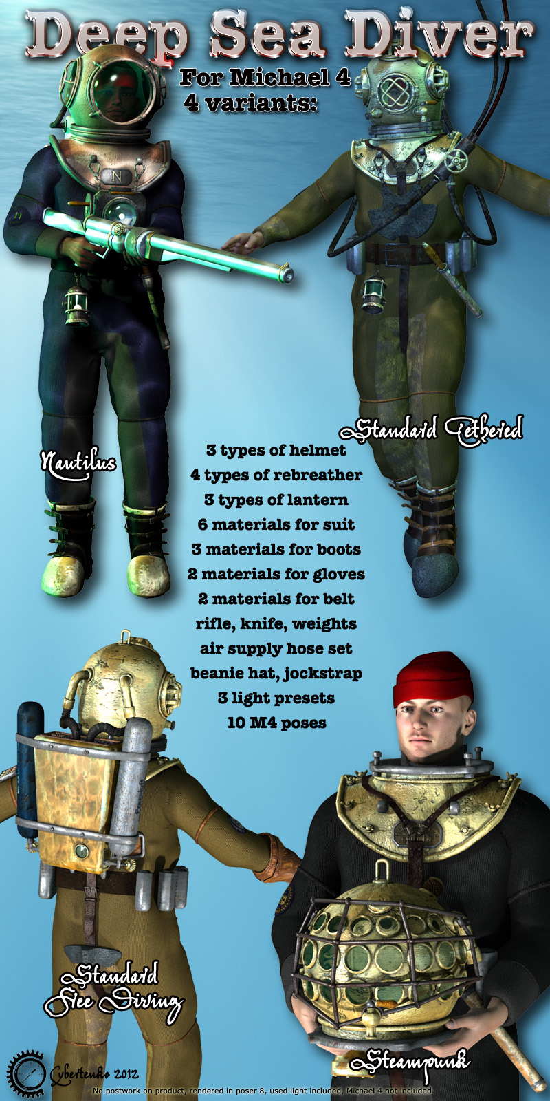 Deep Sea Diver - Extended License