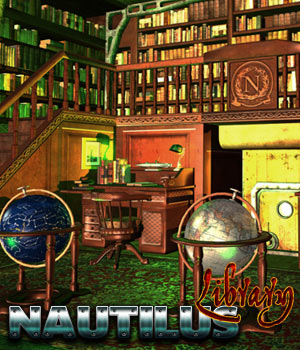 Nautilus: Library - Extended License Gaming 3D Models Cybertenko