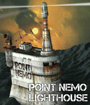 Point Nemo Lighthouse - Extended License 3D Models Gaming Cybertenko