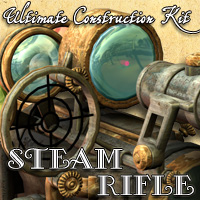 Steam Rifle - Ultimate Construction Kit - Extended License 3D Models Cybertenko