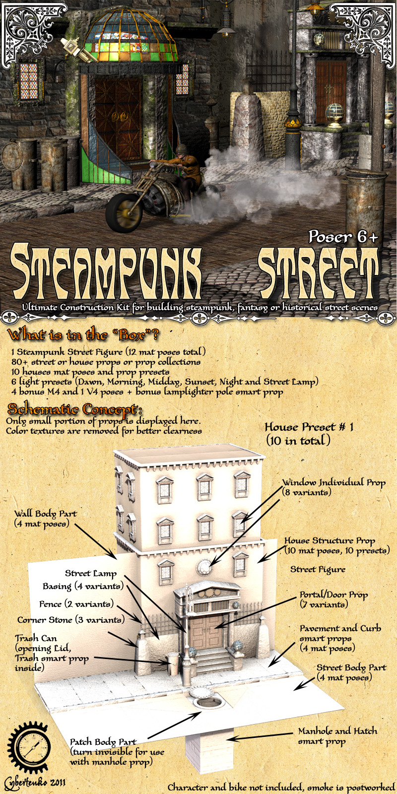 Steampunk Street - Extended License