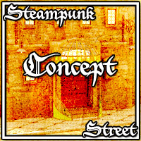 Steampunk Street - Extended License image 1