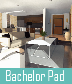Bachelor Pad 3D Models TruForm