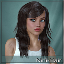 Nini Hair for V4 and G2 image 1