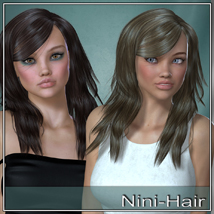 Nini Hair for V4 and G2 image 2