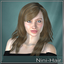 Nini Hair for V4 and G2 image 3