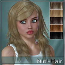 Nini Hair for V4 and G2 image 4