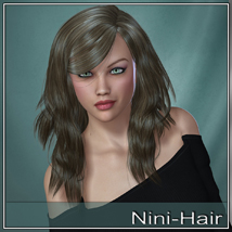 Nini Hair for V4 and G2 image 7
