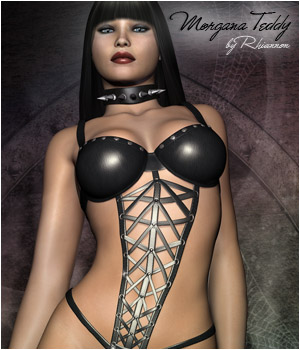 Morgana Teddy 3D Figure Essentials Rhiannon