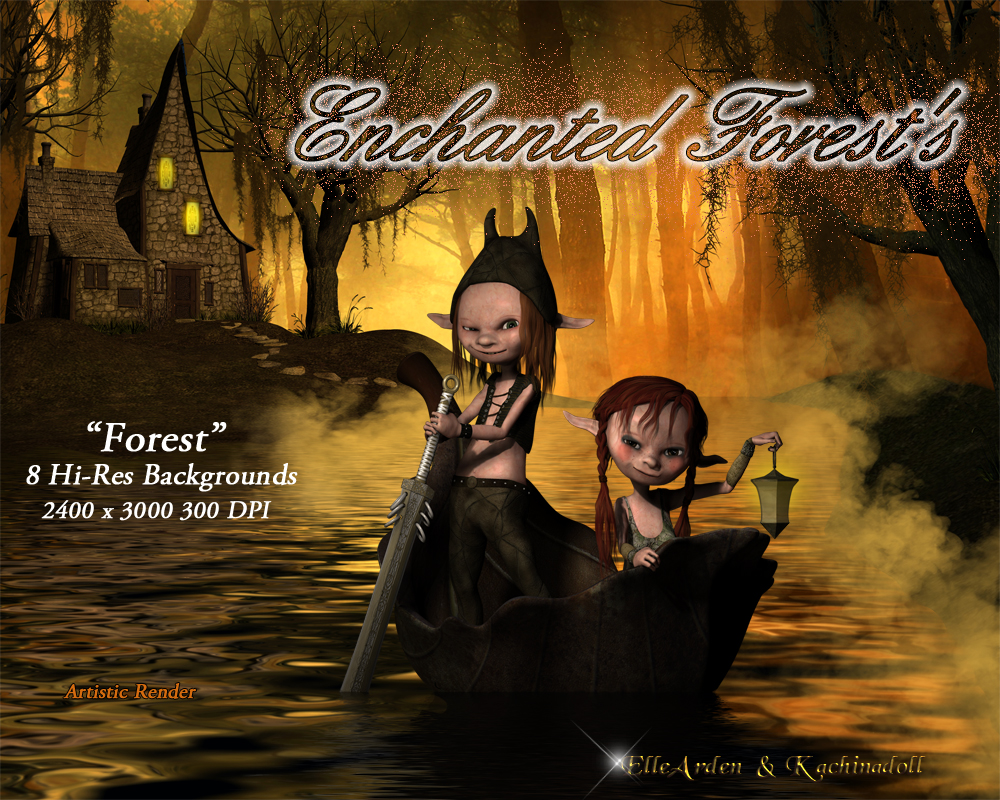 Enchanted Forest Backgrounds
