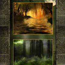 Enchanted Forest Backgrounds image 1