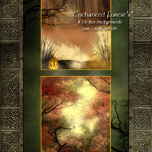 Enchanted Forest Backgrounds image 2