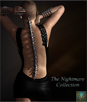 MRL Nightmare Collection 3D Figure Essentials Software Mihrelle