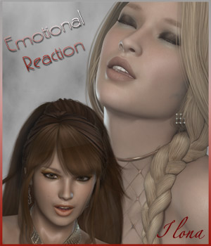 Emotional Reaction 3D Figure Assets ilona