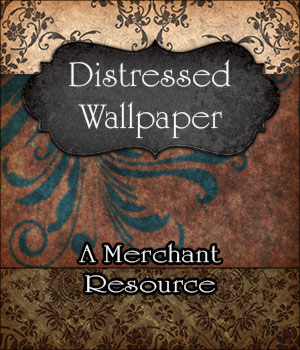 Merchant Resource - Distressed Wallpaper 2D Graphics Merchant Resources antje