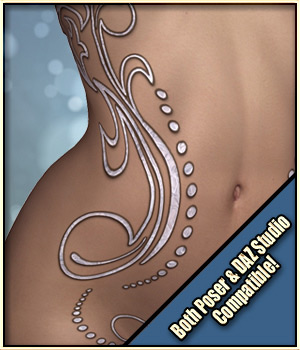 Sexy Skinz - Body Jewels by vyktohria